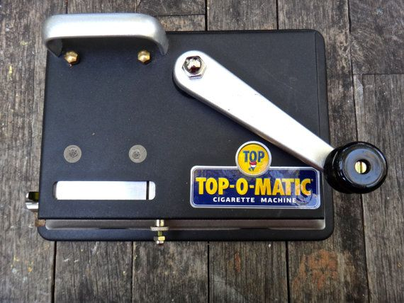 Top O Matic Cigarette Rolling Machine Cigarette by MaxsUniquities