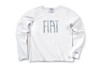 Fiat Ladies Long Sleeved T-Shirt | Clothing | Fiat Merchandise | SG Petch