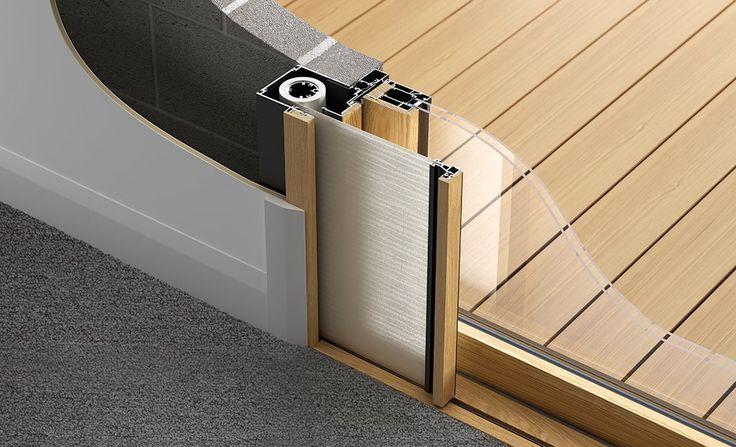 Porte - integrato porte a soffietto da Centor