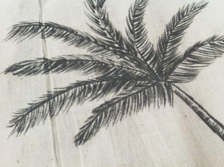 palmtree handmade design