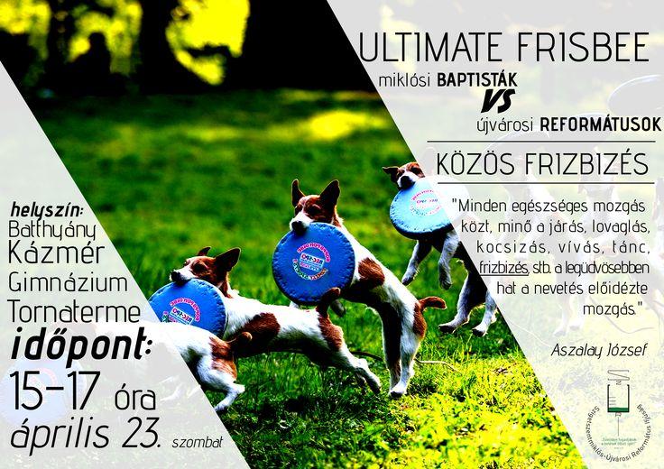 Saját készítésű plakátok || ultimate Frisbizés My posters, event flyers || Ultimate Frisbee event
