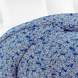 DIANE von FURSTENBERG Swirls Duvet, Dazzling Blue | Bloomingdale's: Furstenberg Swirls, Beds Bedrooms, 2014 Colors, Duvet Covers, Swirls Duvet, Blue Beds, Dazzling Blue, Blue Colors, Dazzle Blue