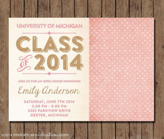 Best Graduation Invitations Images On   Grad Parties