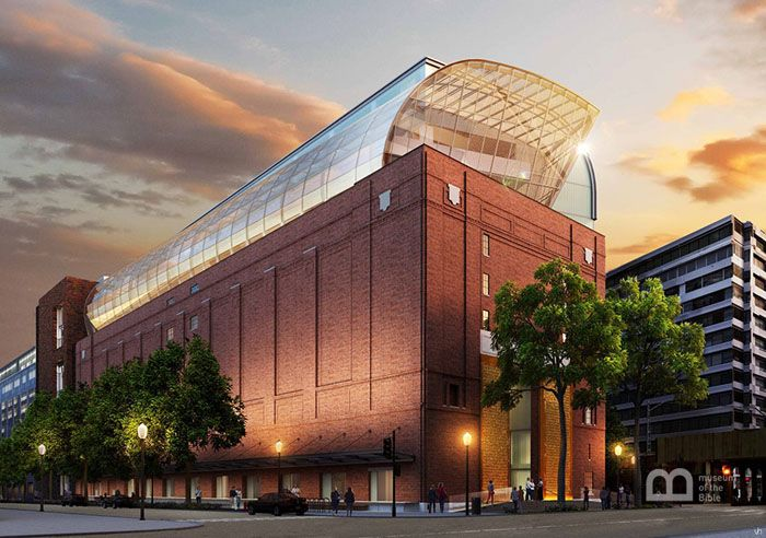 I'm so excited about the Museum of the Bible that is coming to Washington, D.C.!