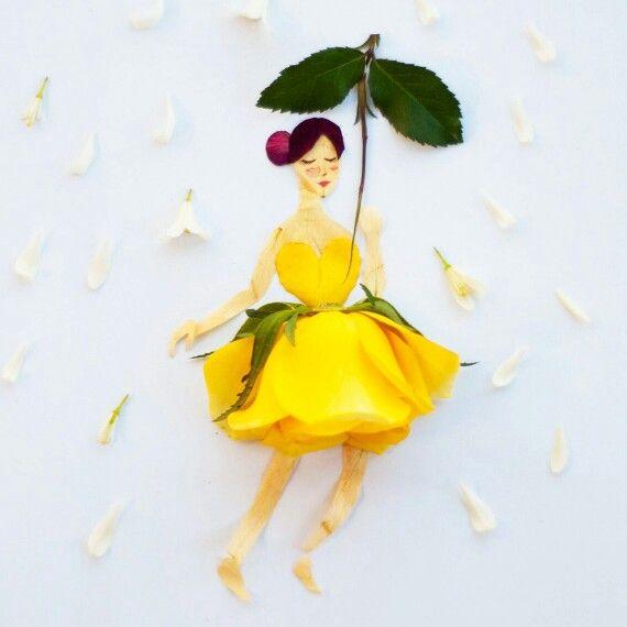 Marmalade dancing in the rain