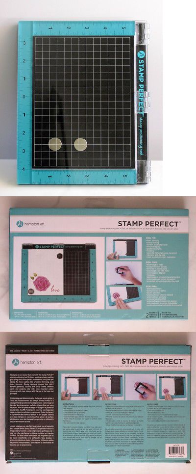 Tools and Equipment 16507: Hampton Art Stamp Perfect Stamp Positioning Tool 7 X 9 -> BUY IT NOW ONLY: $32 on eBay!