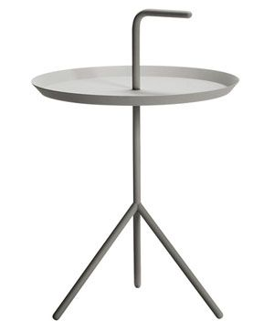 Don't Leave Me table Light grey by HAY