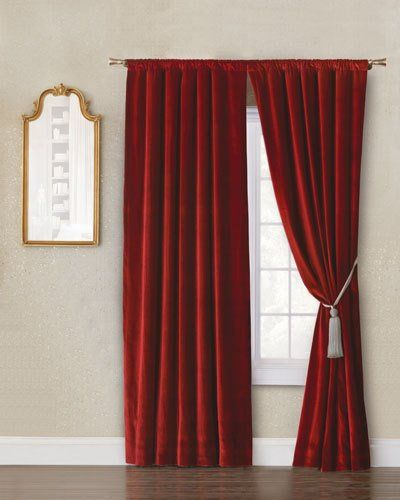 7g6j Eastern Accents Winchester Rod Curtain Panel 108 L