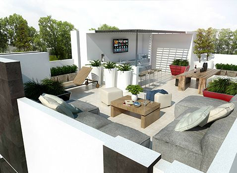 Roof Garden Residencia Neo+ | Hogaria | Casas en venta en Queretaro