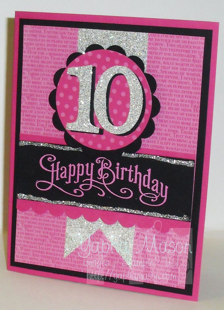401 best Cards Birthday Numbers images on Pinterest   Handmade cards