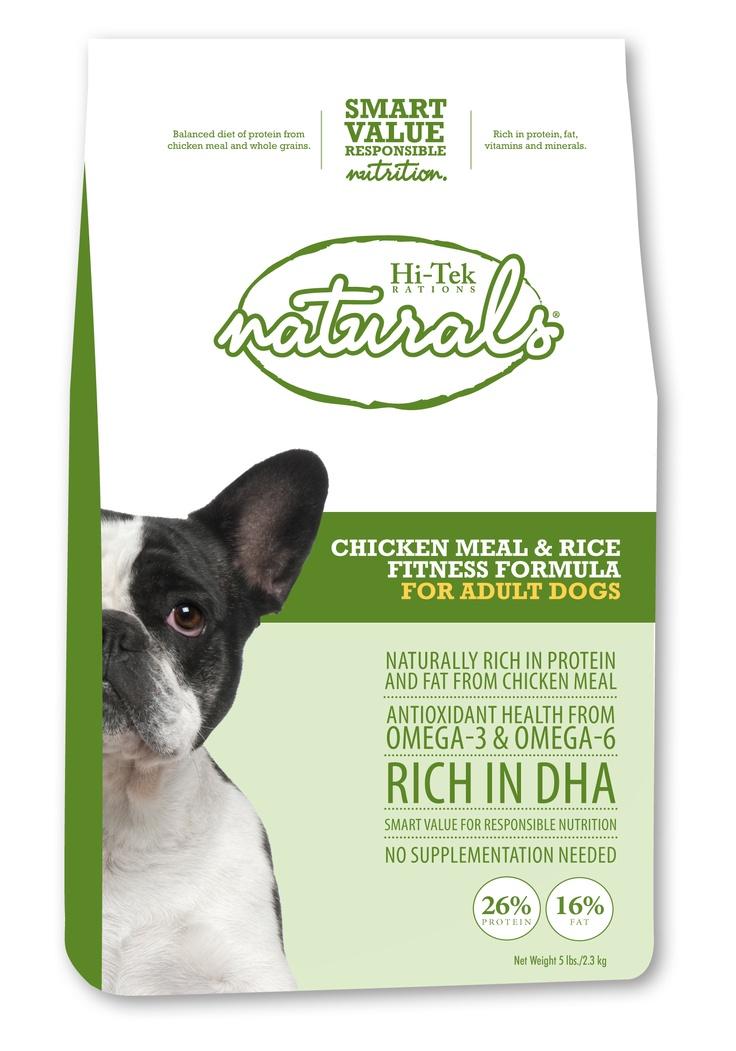 Hi-Tek Naturals Chicken Meal & Rice