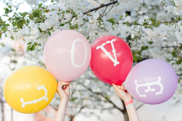 D.I.Y. balloons