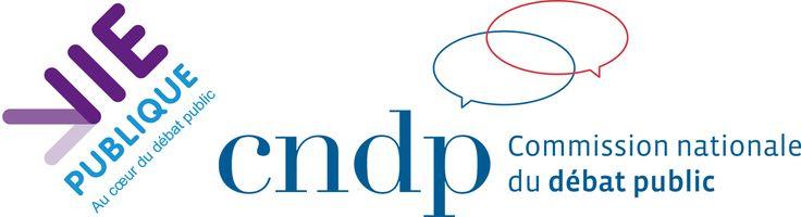 visuel du partenariat vie-publique.fr/CNDP pour le projet DebatesCore