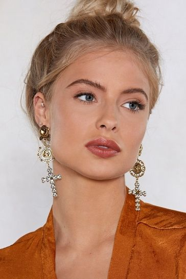 So Old School Drop Earrings