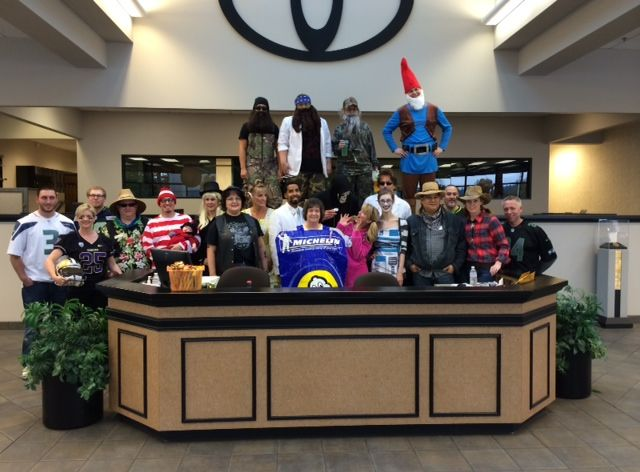 Happy Halloween from all of us at Toyota of Puyallup!