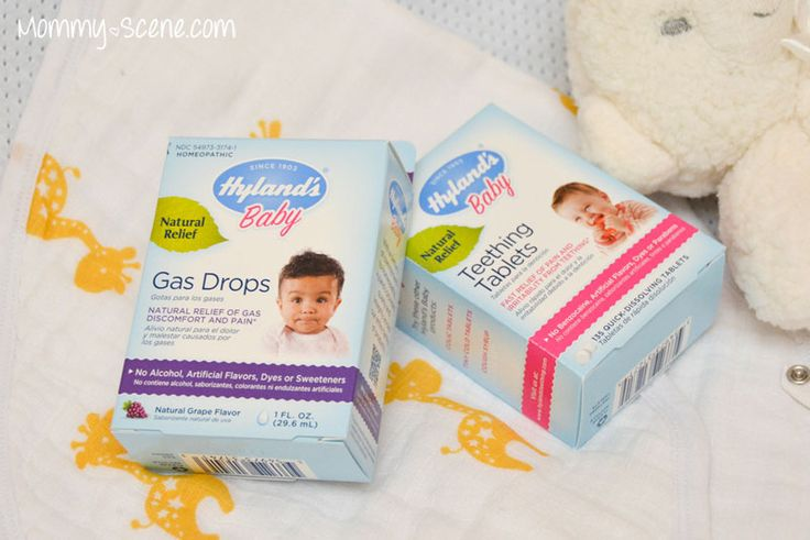 Hylands Teething Tablets and Gas Drops - New Baby Wish List must have ...