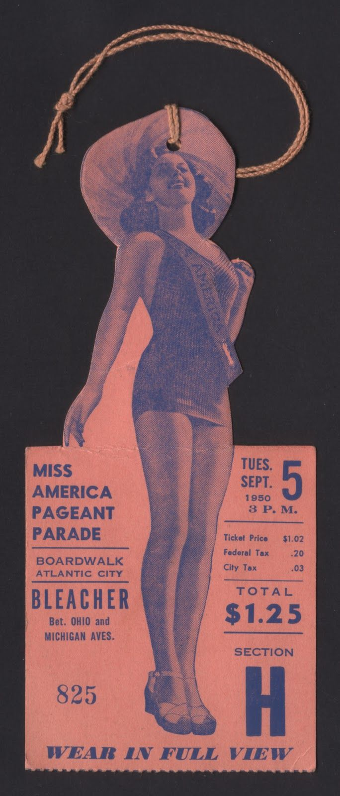 Miss America Pageant Parade