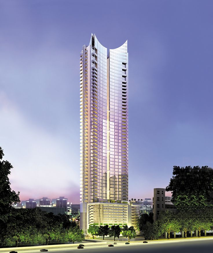 39th in the league of Top 100 High Rises built in 2015 inspired by sail boats. #AhujaTowers stands in the heart of Worli. Know More:http://bit.ly/1QXzeAl