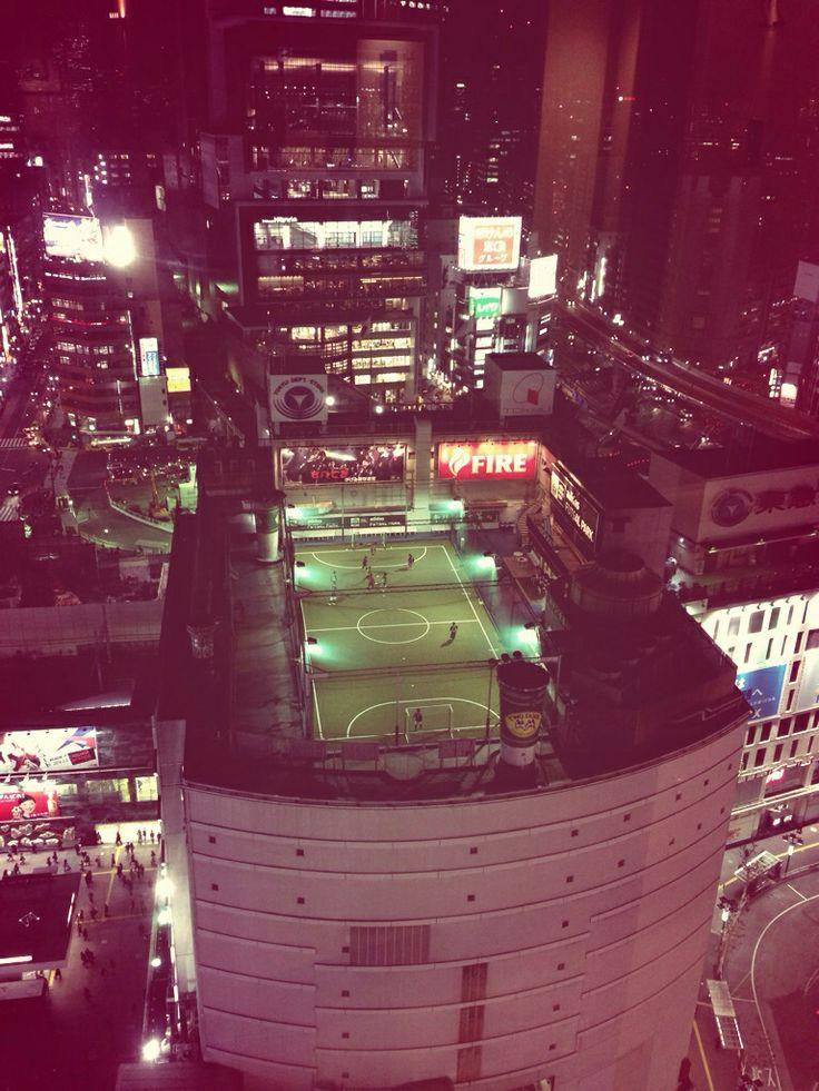 #footballmatch #topbuildingfloor #shibuya #tokyo #march14