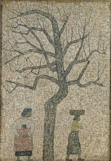 나무와 두 여인