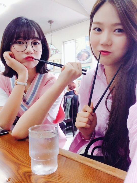 Binnie and Hyojung