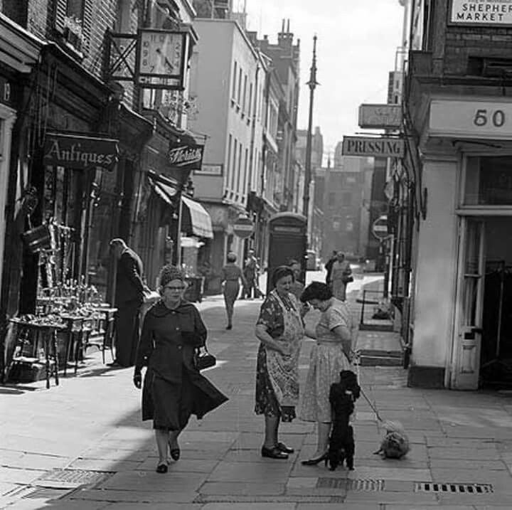 Shepherd  Market  1961
