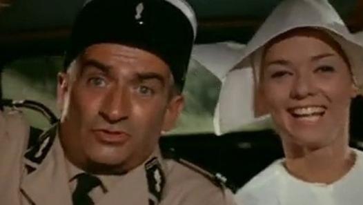 """Le gendarme de Saint-Tropez"""" extrait du film de (1964)"""