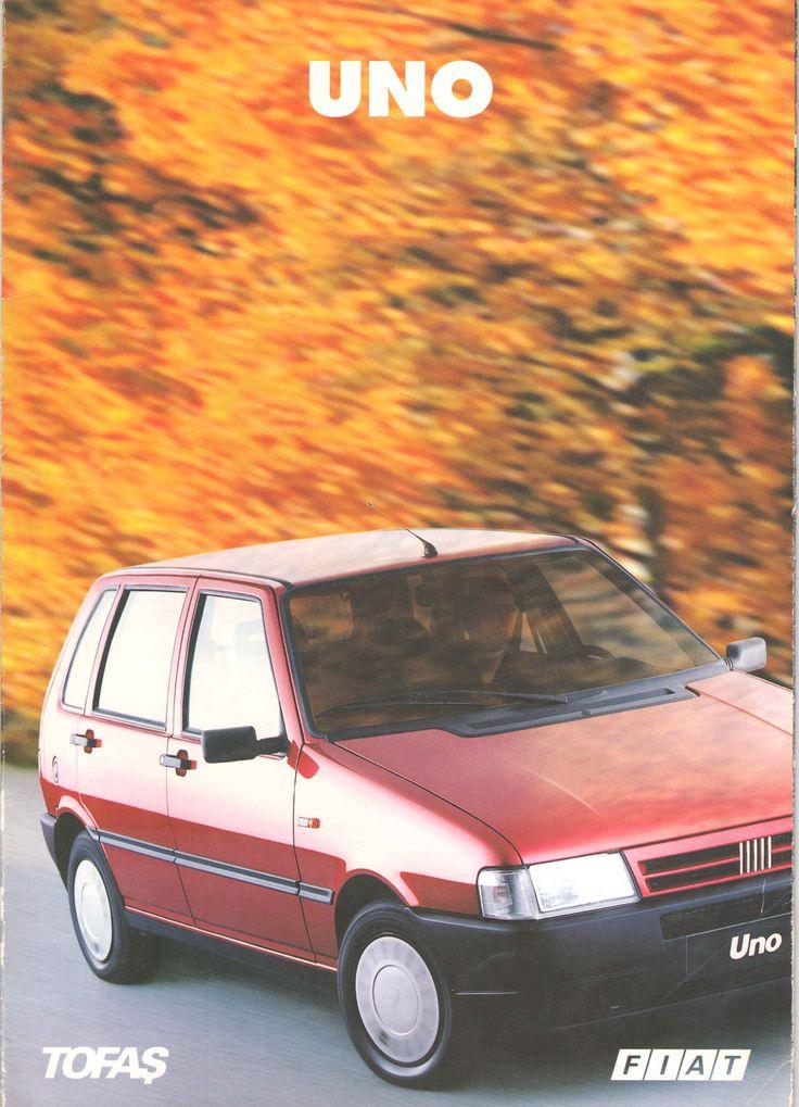 1996 Fiat Uno Turkish Catalog Page 1/8 - 1996 Fiat Uno Türkçe Katalog Sayfa 1/8