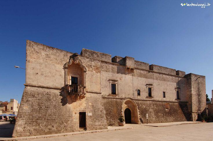 Il Castello #Spinola-Caracciolo nel centro storico di #Andrano