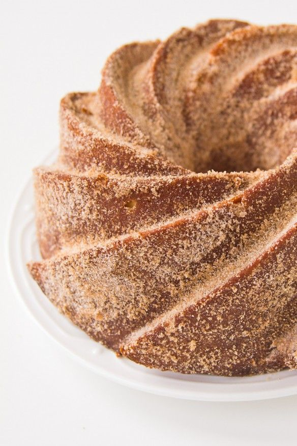 Churro Bundt Cake Photo