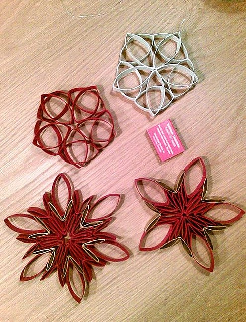 toilet paper roll stars by pxu.fi, via Flickr