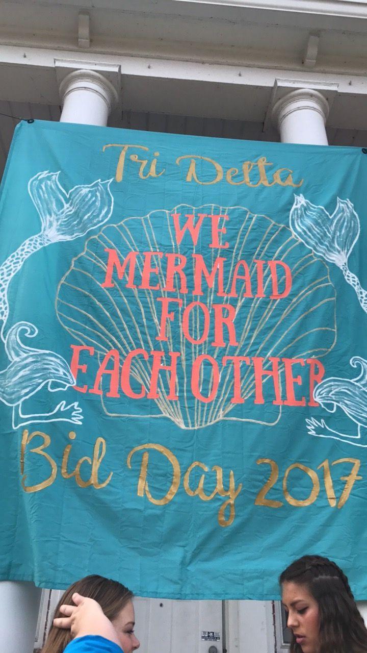 Under the sea bid day with Tri Delta
