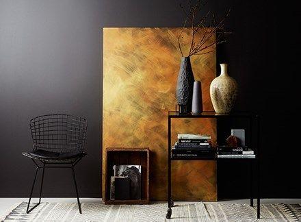 Lady Design Effekt Guld och Koppar, Interiör