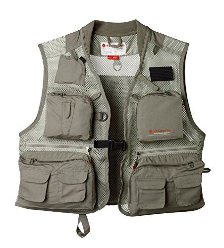 Fishing: Redington First Run Fishing Vest, Grit/Terra, L/Xl (5-Fm007936-0304) -- You can find out more details at the link of the image.