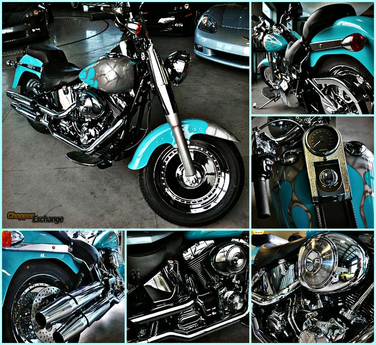 FOR SALE  2004 Harley-Davidson Custom   Located in Clifton, NY    Click the image for more photos and full details or go to www.ChopperExchange.com/481684    #harley #fatboy #custom #chopperexchange #rideon
