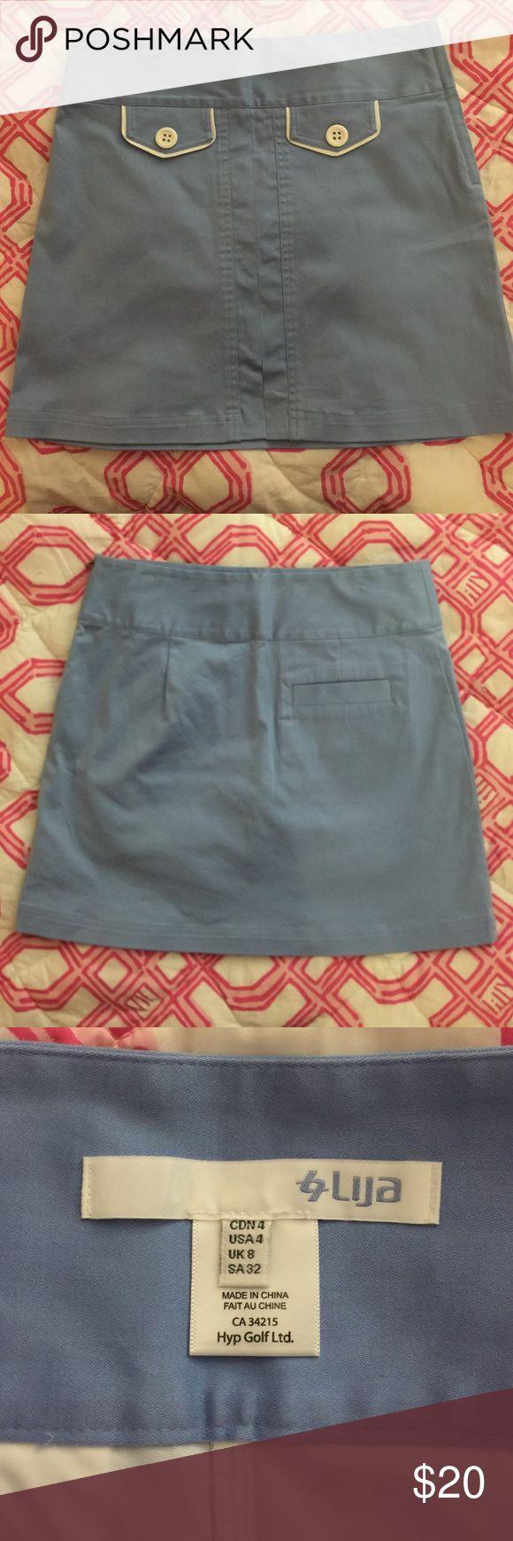 Lija Golf Skirt size 4 Excellent condition blue golf skirt! Lija Skirts