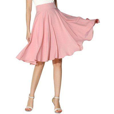 Женская винтажная юбка до колена, в складку Ссылка: http://ali.pub/j1k2b