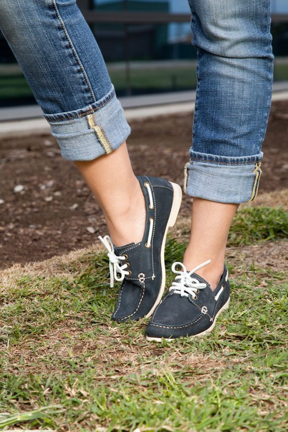 I love boat shoes in general. And need some in this color.