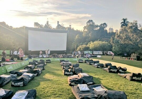 BYOB Cinema- Bring Your Own Blanket- free movie, food vendors onsite, people can bring their picnics as well.