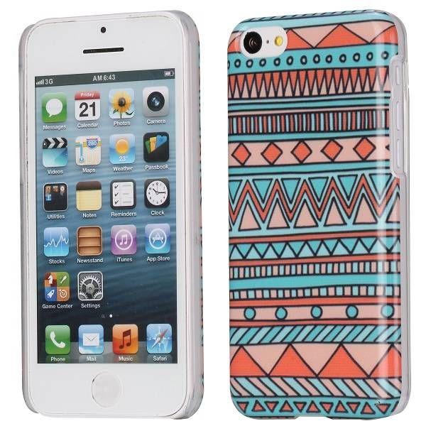 Retro stijl aztec hardcase hoesje iPhone 5C