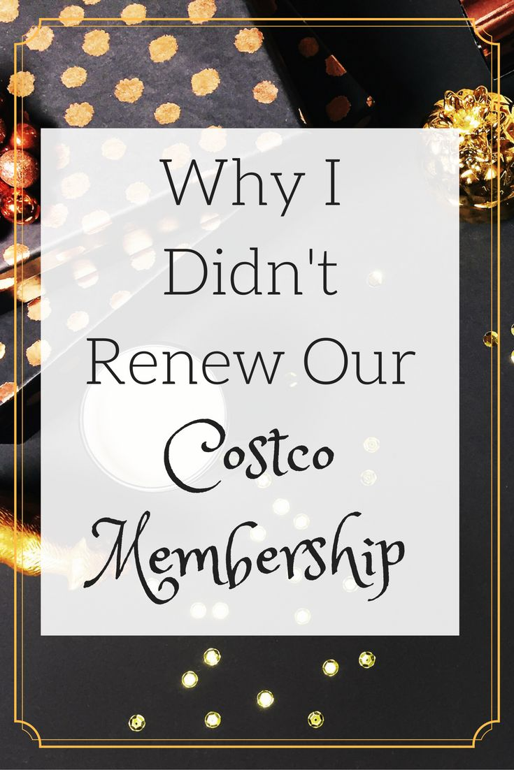 We're pretty big fans of Costco, but we didn't renew our membership this year. See why the numbers weren't in Costco's favor and how we're saving money.