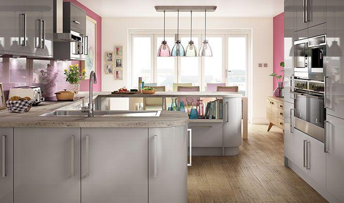 Glencoe Contemporary Kitchen Range   Wickes.co.uk