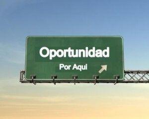 Una oportunidad es el momento preciso en que las circunstancias se alinean a nuestro favor.
