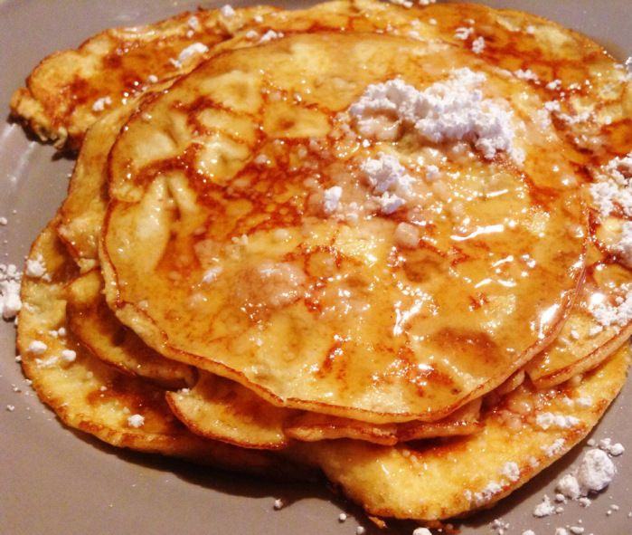 Gluten Free Cream Cheese Pancakes | One day when I own a restaurant ...