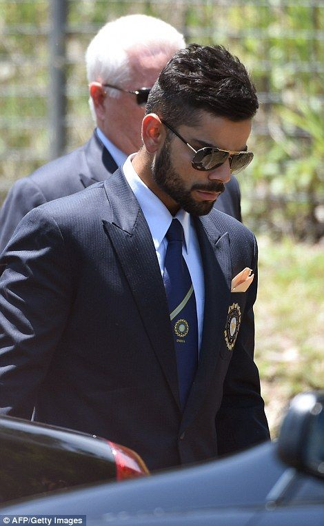 India star Virat Kohli also arrives