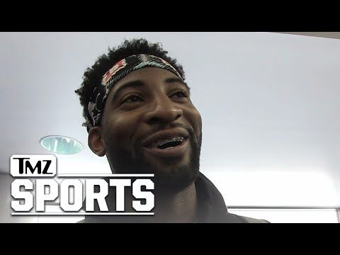 Andre Drummond On Trade Rumblings: 'All I Know Is I'm In Detroit Right Now' | TMZ Sports
