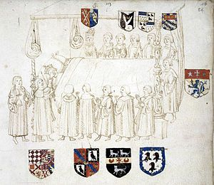 Sir Thomas Wriothesley (pron.: /ˈraɪəθsli/[1] REYE-əths-lee; died 24 November 1534) was a long serving officer of arms at the College of Arms in London. He was the son of Garter King of Arms, John Writhe, and he succeeded his father in this office.
