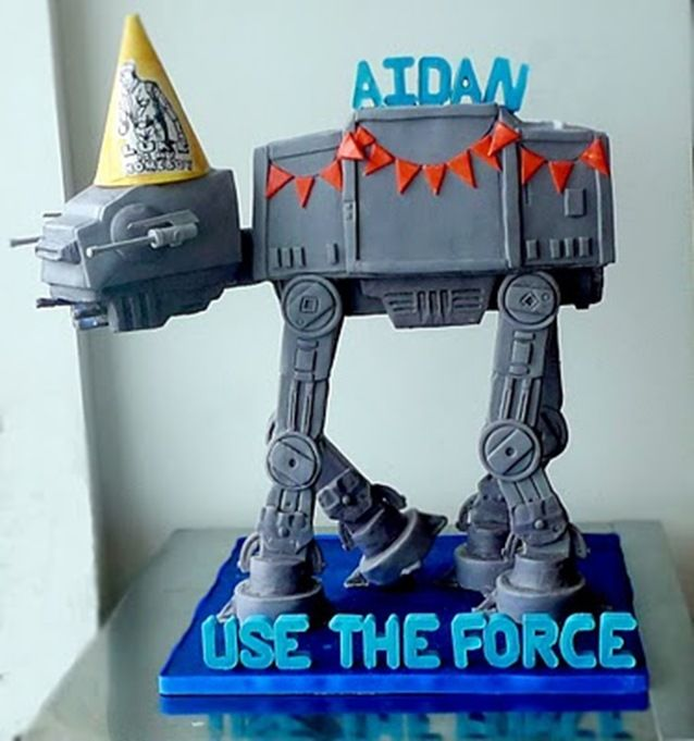 at-at cake!!!Cakesfor Boys, Birthday, Stars Wars Cake, Wars At At, Atat Cake, At At Cake, Star Wars, Wars Atat, Starwars