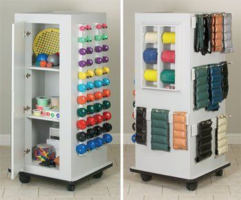 nice Astoria MaxRac - CabinetRac WITH Mirror - Vangaurd series Model 5101B - Storage rac system Physical Therapy / Exercise Equipment Storage Item# 5101B