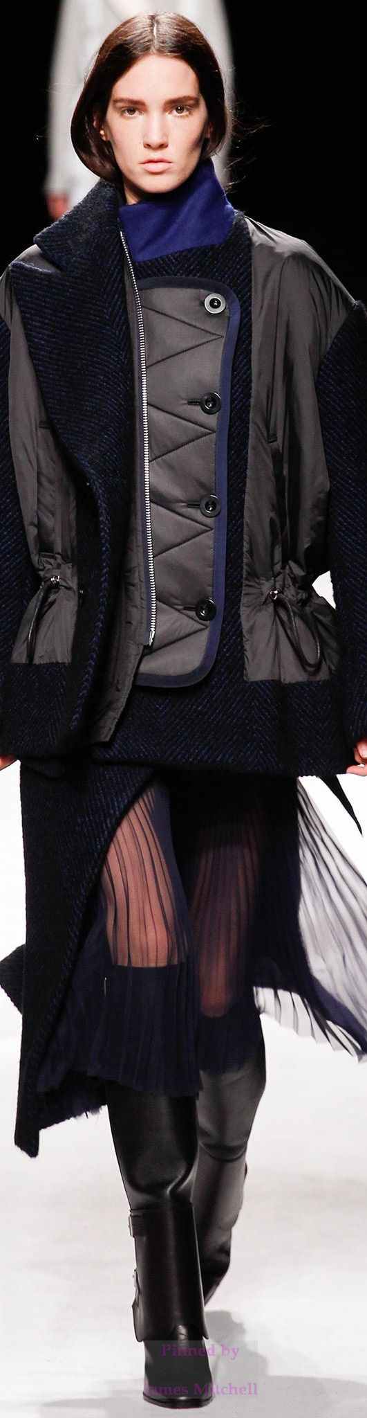 Sacai Collection Fall 2014 Ready to Wear